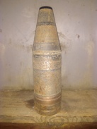 Obus 37mm Perfo Coiffe Balistique Tck - Militaria