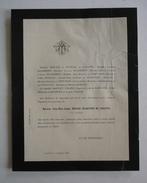 FAIRE-PART DECES 1885 BERLIOZ De REYNIER De JARJAYES MASIMBERT Grenoble Isère Généalogie - Obituary Notices