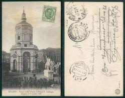 ITALIA [OF #14556] - MILANO TEMPIO DELLA VITTORIA IN PIAZZA S AMBROGIO INAUGURATO IL 4 NOVEMBRE 1928 - Milano