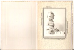 """A Young Boy  Folder  3"""" X 4""""  7.5 Cm X 10 Cm - Anonymous Persons"""