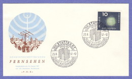 GER SC #770 1957 Television Industry FDC 08-23-1957 - FDC: Covers