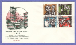 GER SC #B356-9 1957 S-P / Miners FDC 10-01-1957 - FDC: Covers