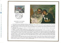 1966 PEINTURE D'HONORE DAUMIER DOCUMENT OFFSET - Arts