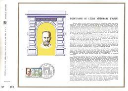 1967 BICENTENAIRE ECOLE VETERINAIRE D'ALFORT DOCUMENT OFFSET - Medizin