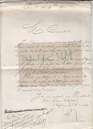 Guerre De 1870. Ernest Lambin, Capitaine De La 2e Compagnie De Marche, à Maurice Chaper. - Documents