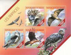 Niger 2014 Vögel Birds M/S - Niger (1960-...)