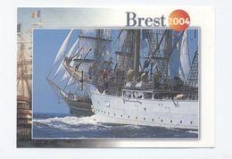 29 BREST 2004 Fête Internationale De La Mer Et Des Marins,  -RECTO/VERSO-C96 - Brest