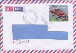 Z] Enveloppe Cover Burundi Poisson Des Grands Lacs Great Lakes Fish Tanganyika - Burundi