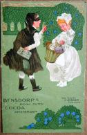 PUBLICITE  CACAO CHOCOLAT  BENSDORP 'S  BELLE COMPOSITION  BOISSON - Advertising