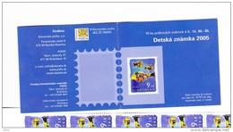 Carnet Pour Les Enfants Poissons 2005 De 10  Timbres C 447 / Booklet Fish 2005  Mi 53 (515) - Unused Stamps