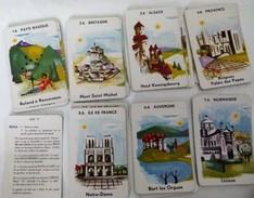 Jeu De Cartes Des 7 Familles Régions (activités Spécialités, Monuments) - Jeux De Société