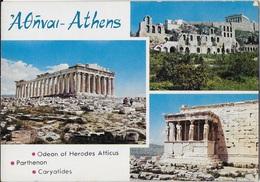 GRECIA - ATENE - MONUMENTI ANTICHI - NUOVA NV - Grecia