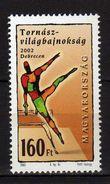 Hungary 2002 The 36th Rhytmic Gymnastics Championships, Debrecen. Sports. MNH - Hongrie