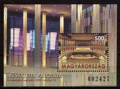 HUNGARY 2005.Art Palace. S/S. MNH - Hongrie
