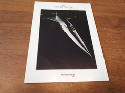 Postcard - Concorde     (V 31730) - 1946-....: Modern Era