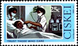 HEALTH-NURSING-TRUST THOSE WHO CARE-CISKEI-SCARCE-MNH-H1-406 - Health