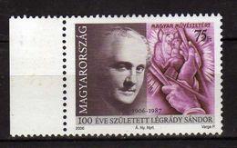 HUNGARY 2006 The 100th Anniversary Of The Birth Of Sandor Legrady, 1906-1987.designer  MNH - Hongrie