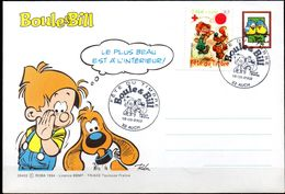 Fête Du Timbre Boule Et Bill -TP Avec Surtaxe - Le 16/03/2002 à AUCH  (32) - Fumetti