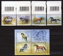 HUNGARY 2006 Horse Breeds.S/S And Stamps. MNH - Unused Stamps