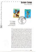 Fête Du Timbre Luky Luke -Notice Philatélique Premier Jour   - Le 15/03/2003 à PARIS - Comics