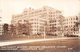 ¤¤  -   ETATS-UNIS  -  MILWAUKEE  -  Carte-Photo  - New County Général Hospital - Institutions Wauwatosa   -  ¤¤ - Milwaukee