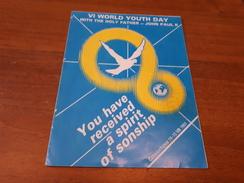 Old  Maps - VI World Youth Day, John Paul II, Czestochowa - Maps