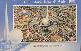 ¤¤  -   ETATS-UNIS  -  NEW-YORK  -  New-York World's Fair 1939  -  Général View - Main Exhibit Aera  -  ¤¤ - Expositions