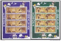 Europa Cept 1992 Gibraltar 4v 2 Sheetlets ** Mnh (F5204) Promotion - Europa-CEPT