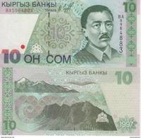 (B0647) KYRGYZSTAN, 1997. 10 Som. P-14. UNC - Kirghizistan