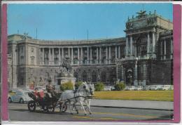 VIENNE .- Nouveau Château Impérial Avec Un Fiacre - Equipos