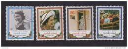 Norfolk Island 1986 QEII 60th Birthday Set 4 FU - Norfolk Island