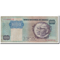 Angola, 1000 Kwanzas, 1984, 1984-01-07, KM:121a, TB - Angola