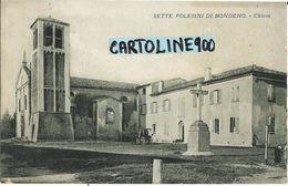 Emilia Romagna-ferrara-sette Polesini Di Bondeno Chiesa Veduta - Autres Villes