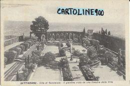 Toscana-firenze-settignano Villa Di Gamberaia Giardino Veduta Primi 900 - Italia