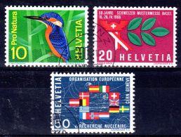 21.2.1966; Werbe- Und Gedenkmarken, Mi-Nr. 833 - 835, Gest., Los 48400 - Used Stamps