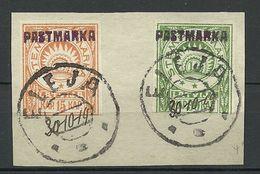 LETTLAND Latvia ELEJA 1919 Local Issue O 2-mal Signiert - Lettonie