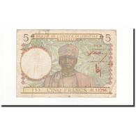 French West Africa, 5 Francs, 1943-03-02, KM:26, TB - États D'Afrique De L'Ouest