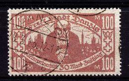 A4703) Danzig Mi.132 Mit Stempel DANZIG 4b 28.3.23 - Deutschland