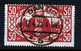 A4704) Danzig Mi.131 Mit Stempel DANZIG 5h 12.4.23 - Deutschland