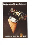 17023 - Plakat Eine Schweizer Uhr Vom Fachmann Gute Uhren Guter Rat  Reproduction D'affiche (format 10X15) - Publicité