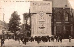 LILLE MONUMENT AUX MORTS - Lille