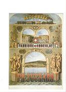 17025 - Plakat Neuchâtel Fabrique De Chocolat PH. Suchard  Reproduction D'affiche (format 10X15) - Publicité