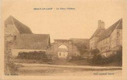 """CPA FRANCE 71 """"Dracy Saint Loup, Le Vieux Château"""" - Sonstige Gemeinden"""