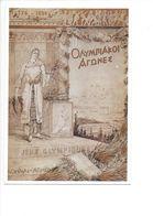 17029 -  Jeux Olympiques Athènes 1776-1896 Reproduction D'affiche (format 10X15) - Jeux Olympiques