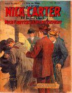 Nick Carter.Nick Carter's A Dvertisement.Série II.n°101.éditions A.Eichler.32 Pages.Adaptation Jean Petithuguenin. - Autres
