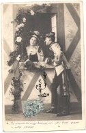 Historiette -  Soldat - Couple Halte Au Village - - Non Classificati