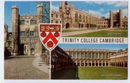 Trinity College CAMBRIDGE Multiview Card - Cambridge
