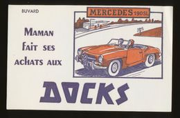 Buvard - DOCKS - Mercedes 190SL - Buvards, Protège-cahiers Illustrés