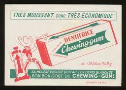 Publicite - DENTIFRICE Chewing-Gum - Blotters