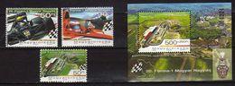HUNGARY 2005 Stamp Day - Formula 1 Grand Prix Of Hungary And Hungaroring. Car Racing. MNH - Hongrie